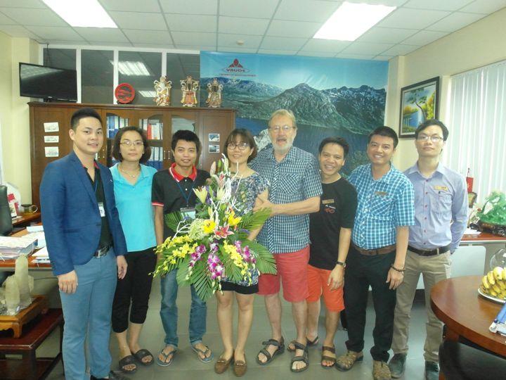 Công ty Vaude Viêt nam chào mừng 85 năm ngày phụ nữ Việt Nam 20/10/1930 - 20/10/2015