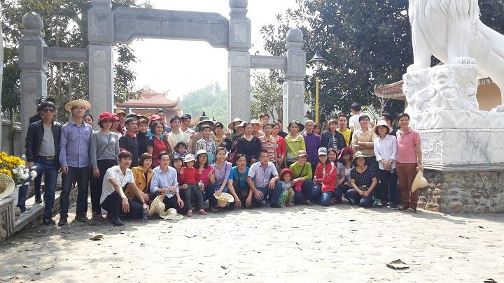CBCNV Công ty TNHH Vaude Việt nam thăm quan Chùa Yên Tử