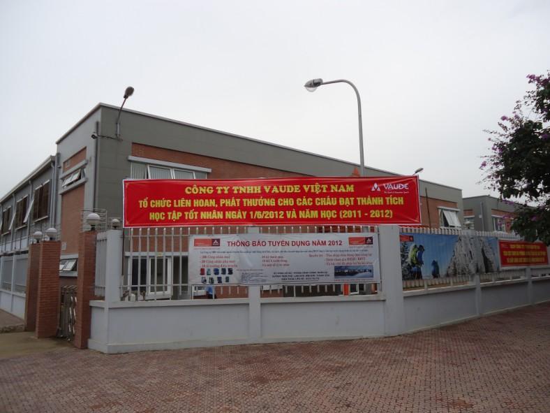 Ngập tràn niềm vui ngày tết thiếu nhi 01/06 tại Công ty TNHH Vaude Việt Nam
