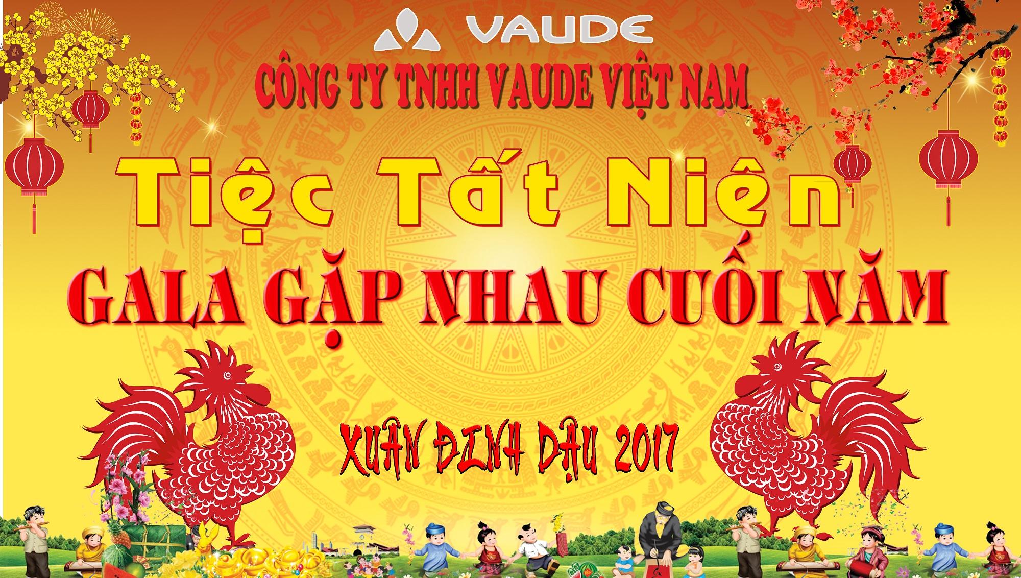 Tiệc Tất Niên của Công ty TNHH Vaude Việt Nam