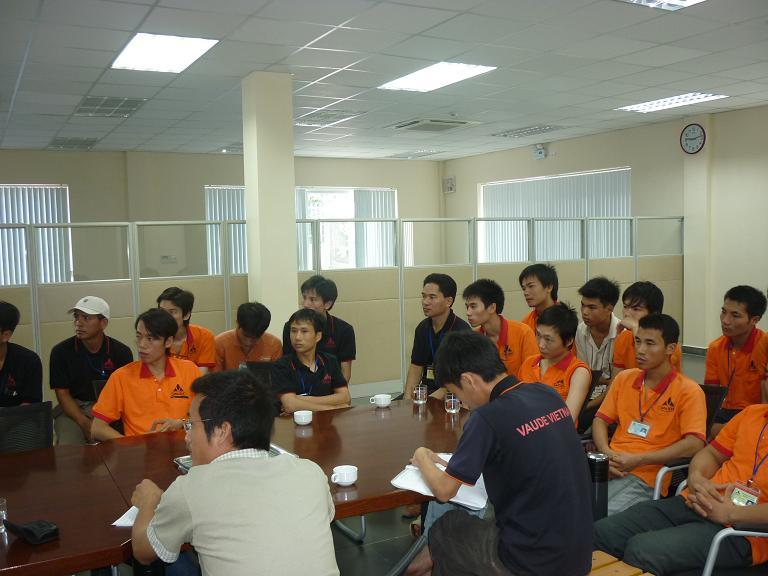 VAUDE TRIỂN KHAI THÀNH CÔNG PHƯƠNG ÁN DIỄN TẬP PCCC LẦN 1 NĂM 2011