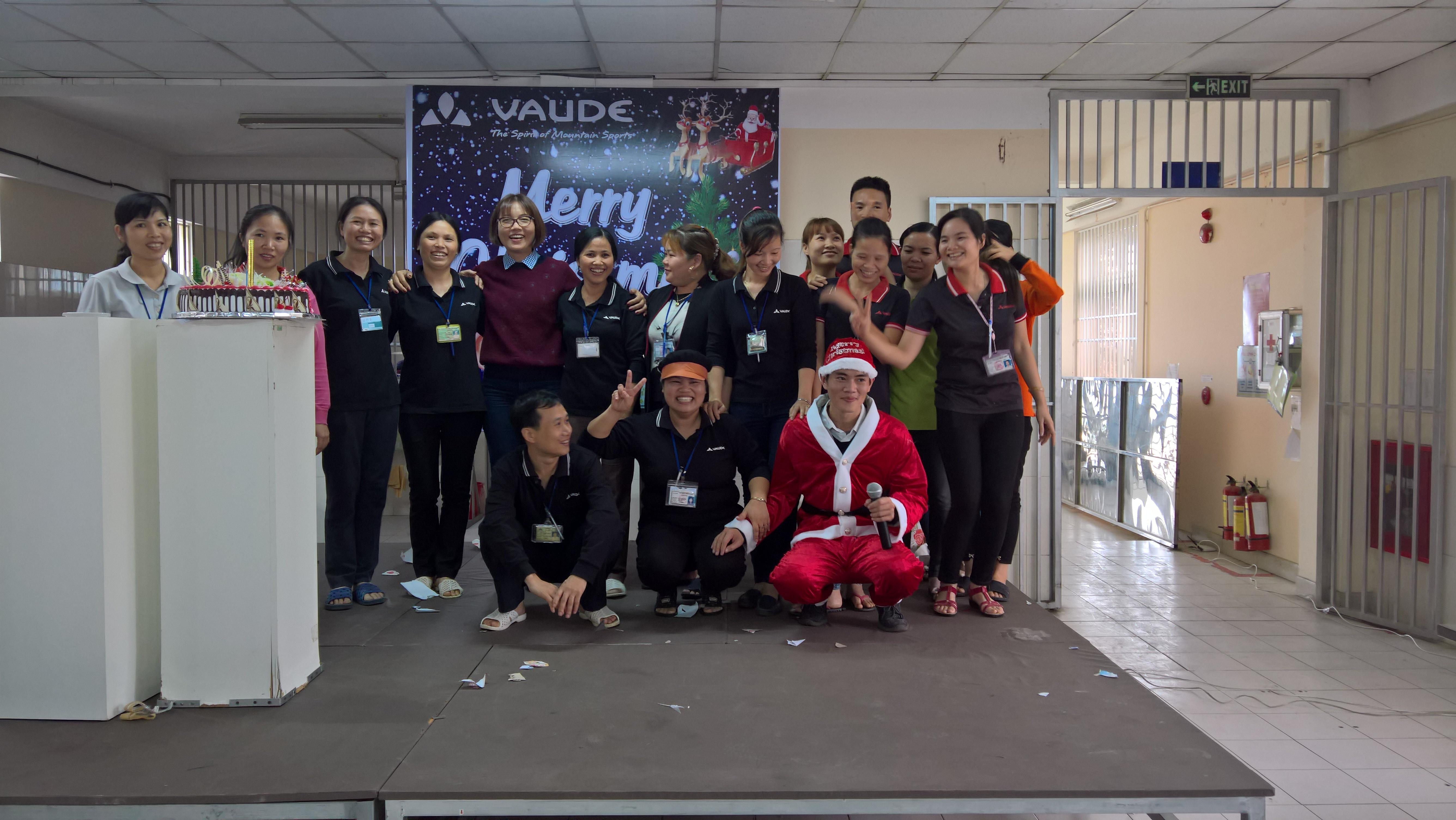 Công ty TNHH Vaude Việt Nam vui cùng noel năm 2016
